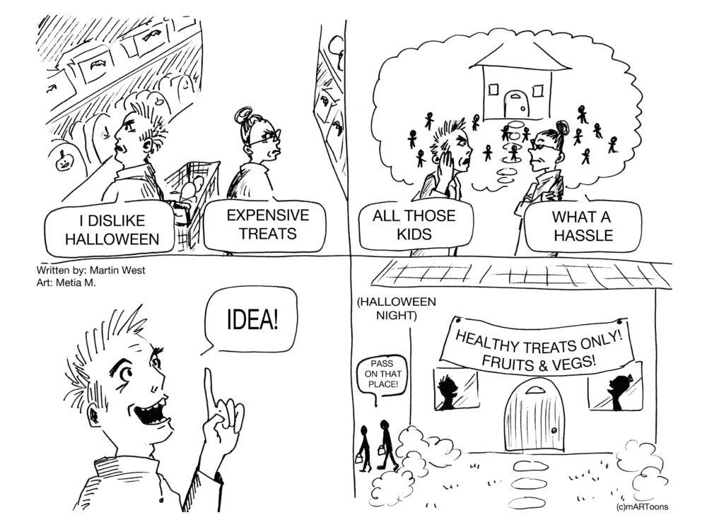 MT#61 Healthy Halloween
