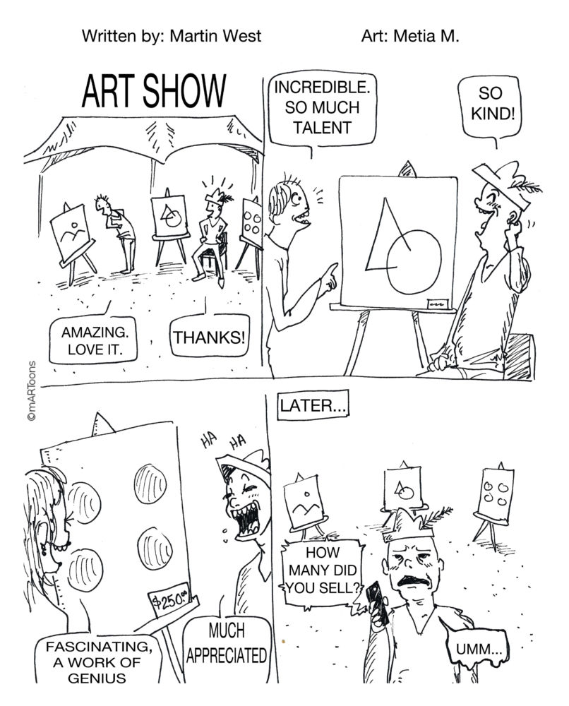 MT#67 Art Show by Martin West & Tia