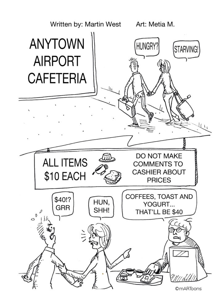 MT#74 Airport Food by Martin West & Tia