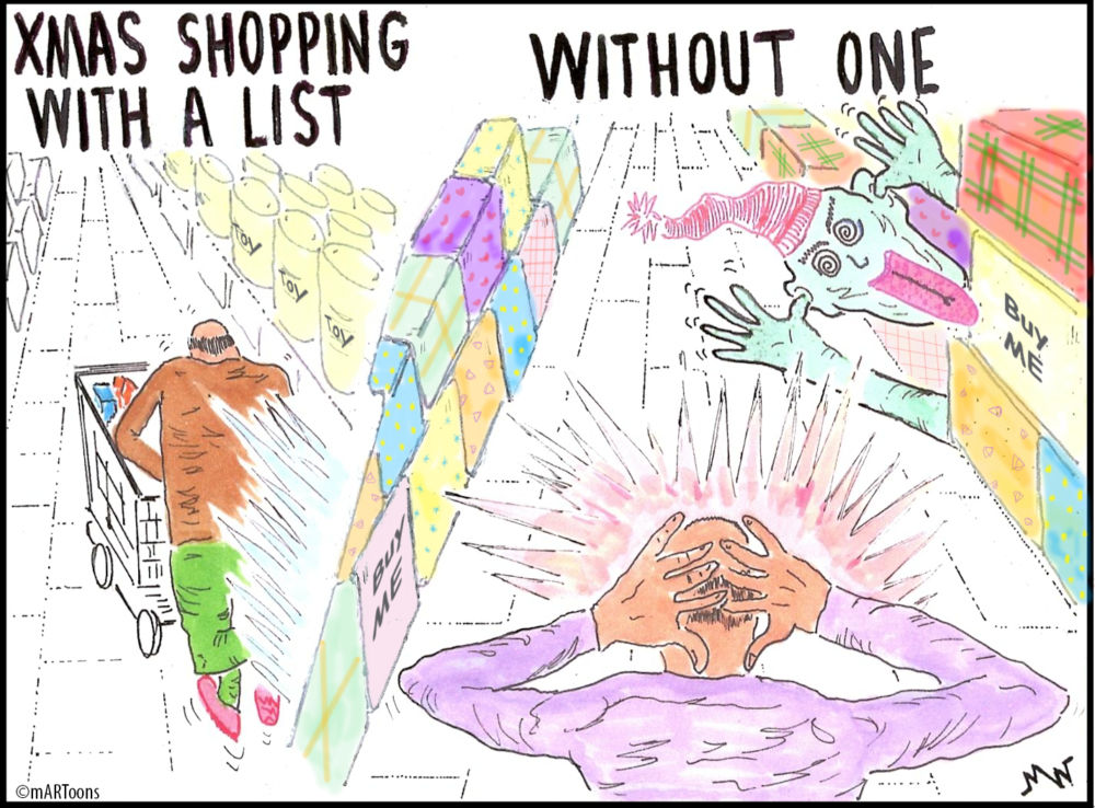 MT#104 No List Shopping by Martin West