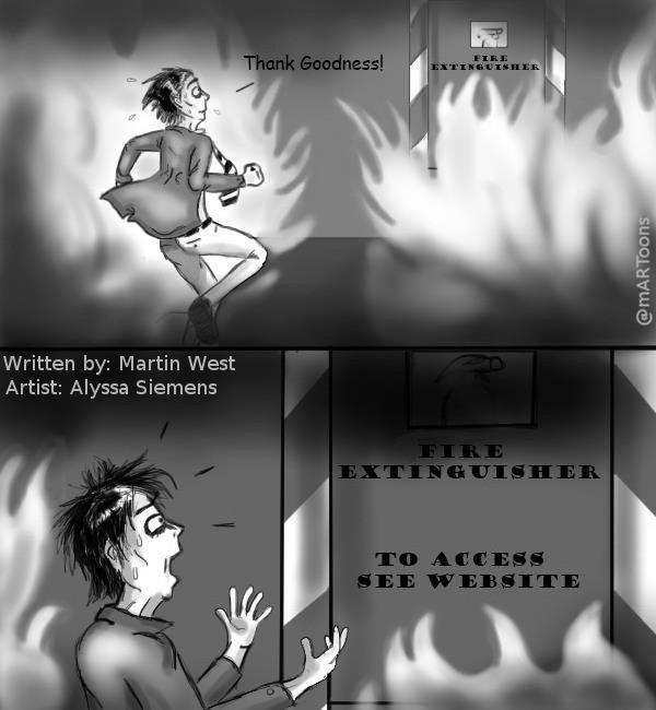 MT#82 Fire Exit by M. West & Alyssa Siemens