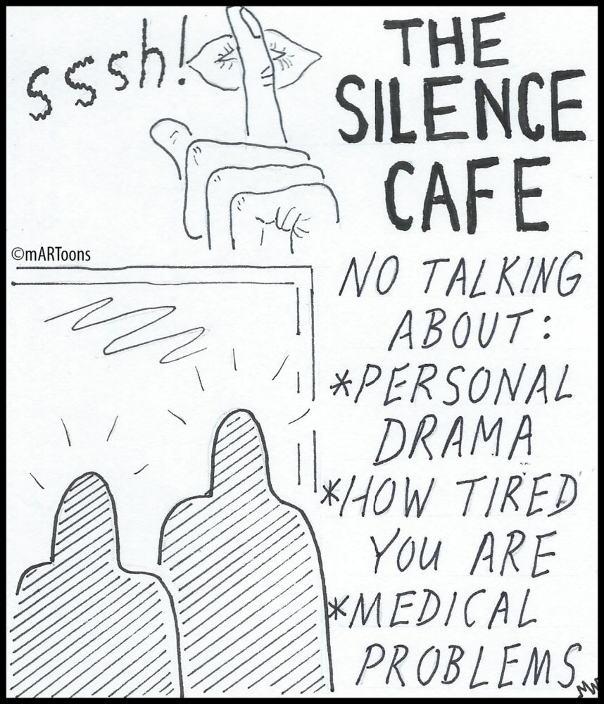 MT#211 Silence Cafe by Martin West