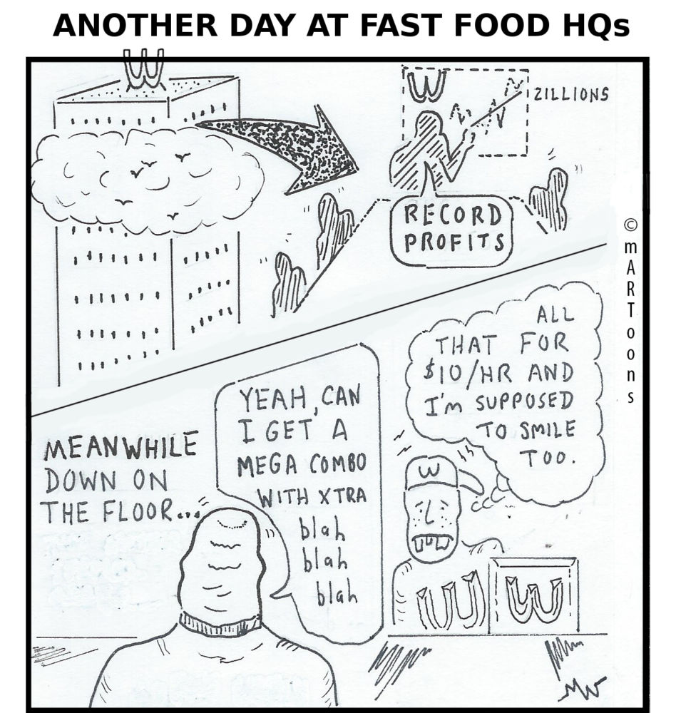 MT#261 Fast Food Slaves by Martin West