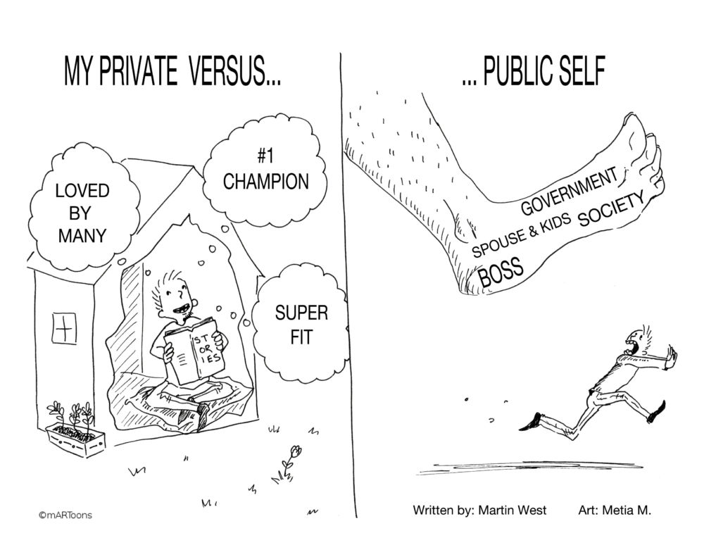 MT#266 Private Vs Public Self by M. West & Tia