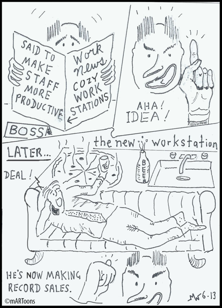 MT#282 New Workstation by Martin West