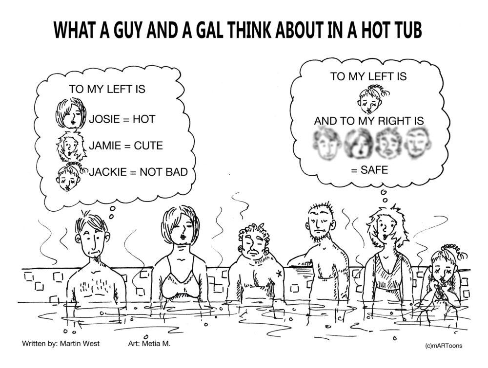 Best of August: MT#361 Guy Gal Hot Tub