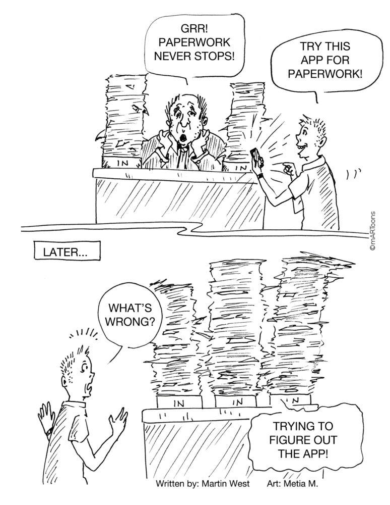 MT#378 Paperwork App