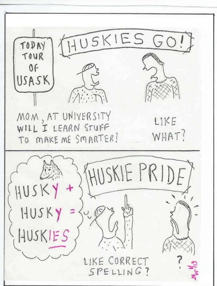 MT#555 Huskies Go
