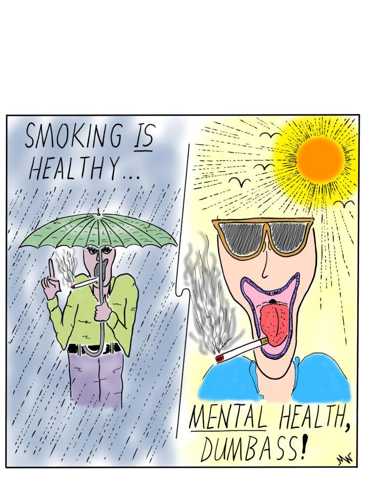 MT#697 Smoking Calendar #3