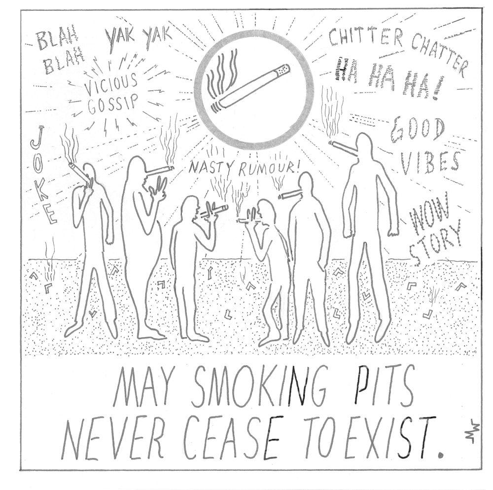 MT#761 Martoons' Smoking Calendar 2020