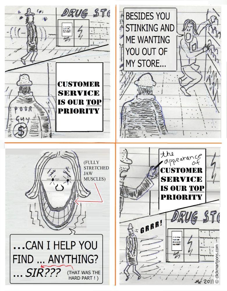 MT#835 Customer Service