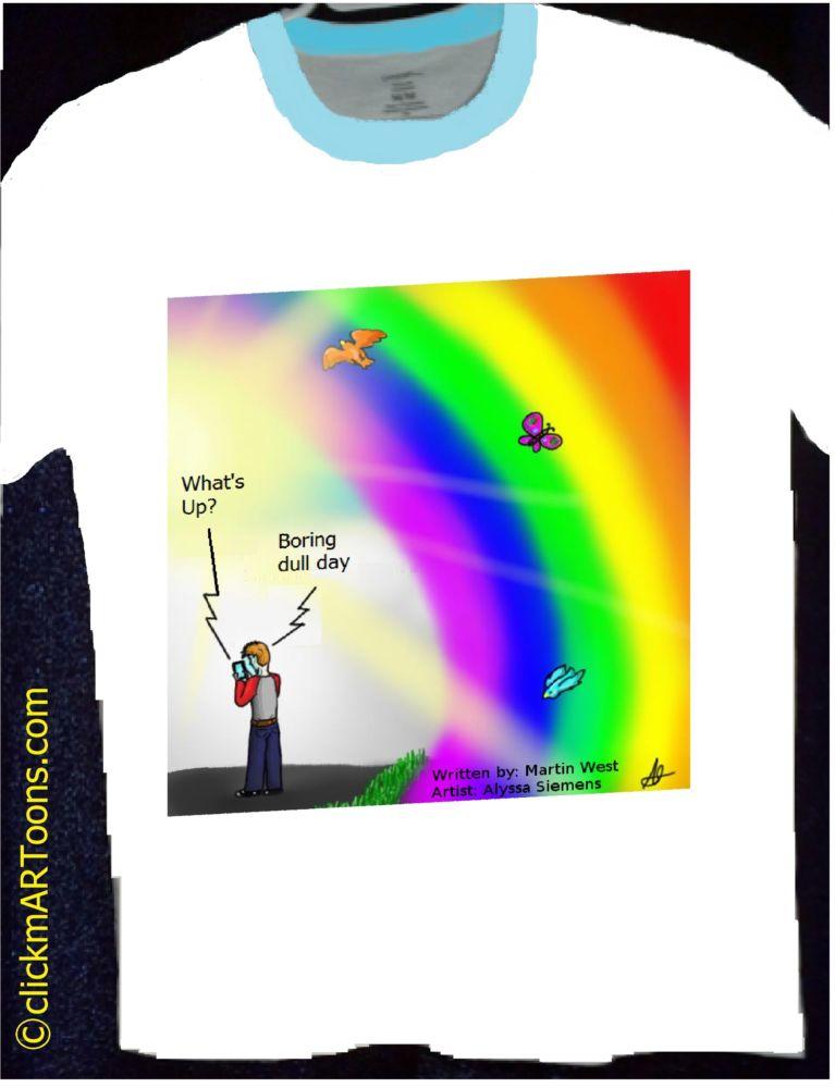 MT#872 Rainbow T-shirt