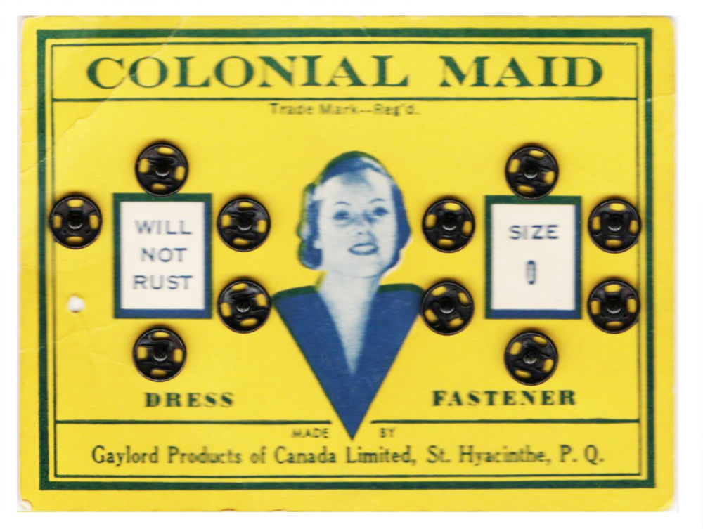 MT#1040 Quebec Marketing from Days Gone By