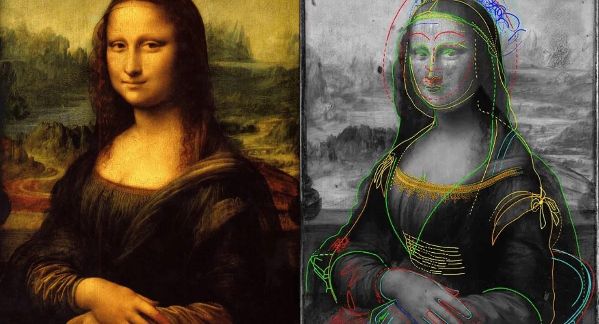 Super câmera revela esboço oculto por Mona Lisa, indicando que Leonardo da Vinci tinha outros planos para a obra