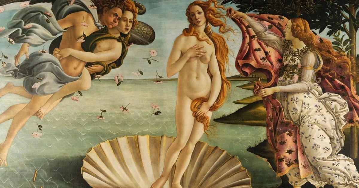 O Nascimento de Vênus – O primeiro nu feminino depois de um milênio de arte