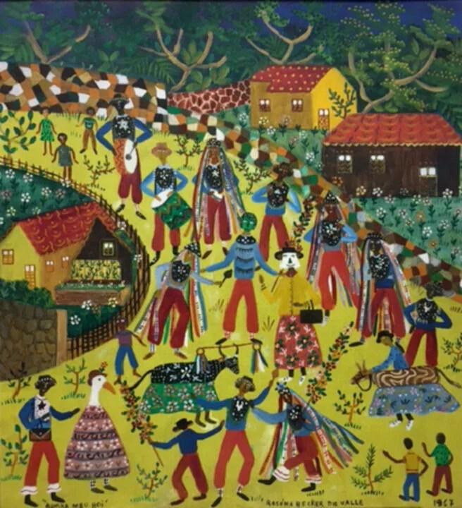Visite a exposição:  A opulência da Arte Popular brasileira