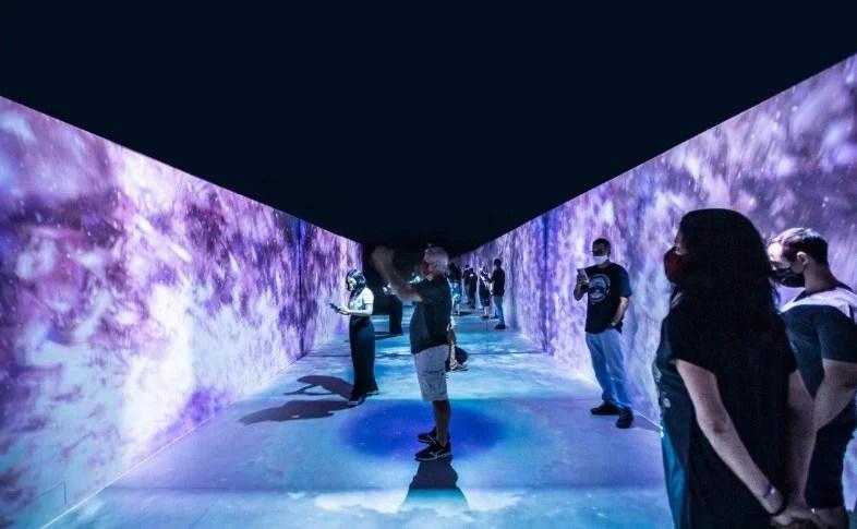 Instalação interativa IM.FUSION no MAC de Niterói