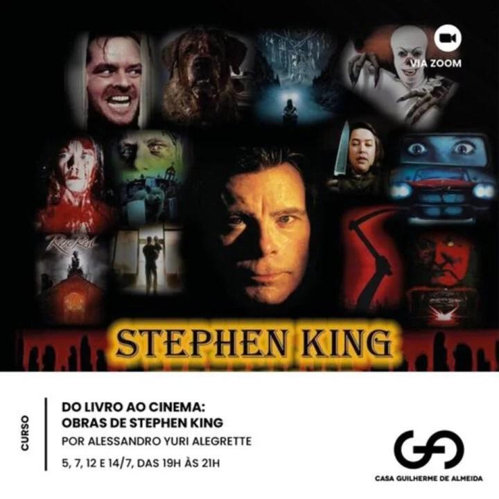 Museu convida para curso gratuito sobre Steven King