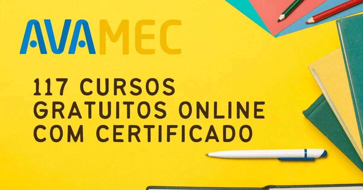 MEC acaba de lançar 117 cursos       online gratuitos