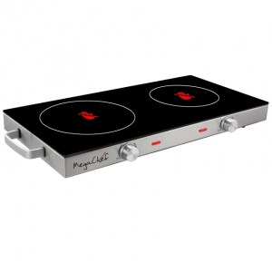 Infrared Double Electrical Cooktop