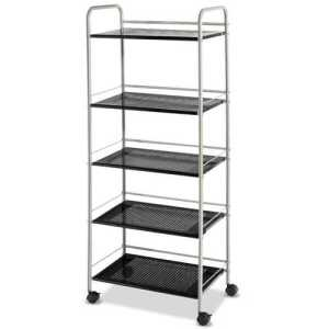 5-Tiers Storage Cart Rack