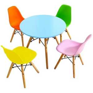 5-Piece Kids Colorful Chair-Set