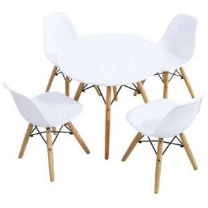 5Piece Kids Table-Chairs Set