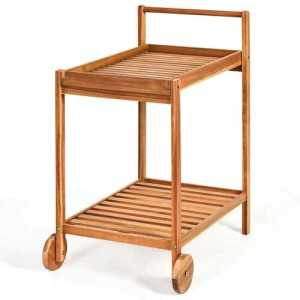2-Tier Kitchen Trolley Cart