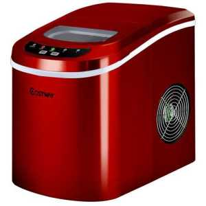 Red Electric Ice-Maker Machine