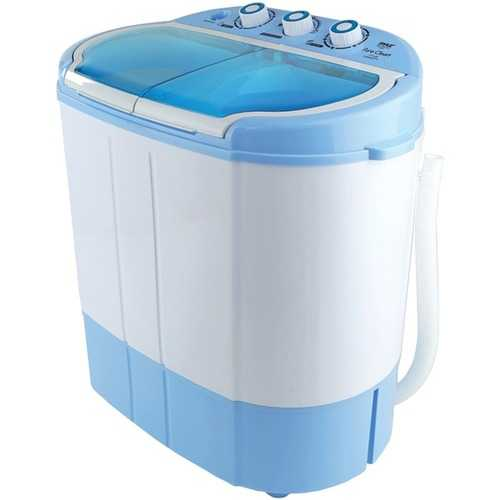 Compact Washer and Spin Dryer