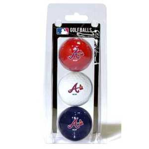 Atlanta Braves Golf Balls Pack with free delivery worldwide