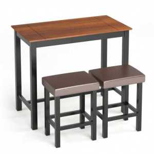 Pub Dining-Table with Stools