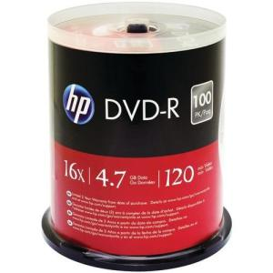 Hp 4.7gb Dvd-rs 100-ct Spindle with free and fast home shipping