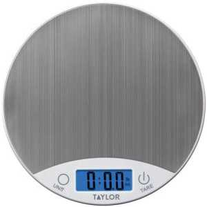 Steel Digital Kitchen Scale