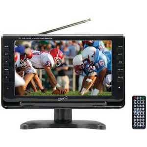 "Supersonic SC-499 9"" TFT Portable Digital LCD TV with free and fast shipping worldwide."
