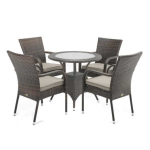 Dove 5 Piece Outdoor Dining Setting