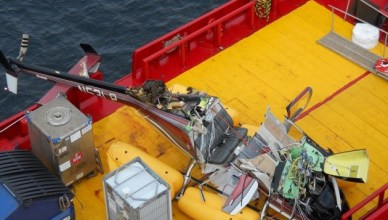 Acidente na plataforma SS-86 da Seadrill com helicópetro da BHS no dia 15042017