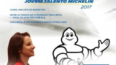 Michelin programa de jovens talentos 2017 para técnicos e engenheiros