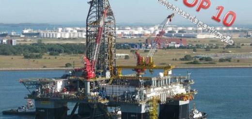 top 10 empresas de perfuração offshore