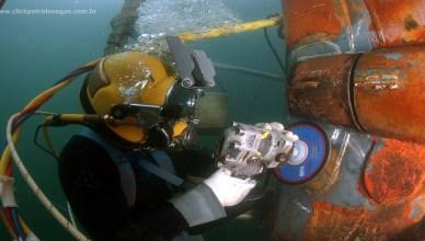 diver mergulhador offshore