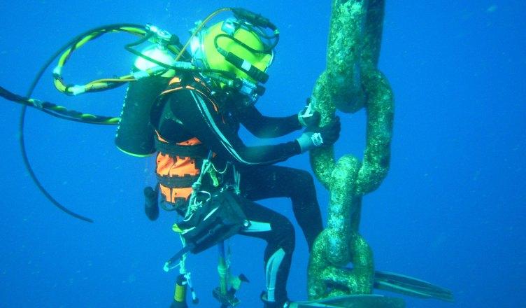 Aquamen Chevron em operação
