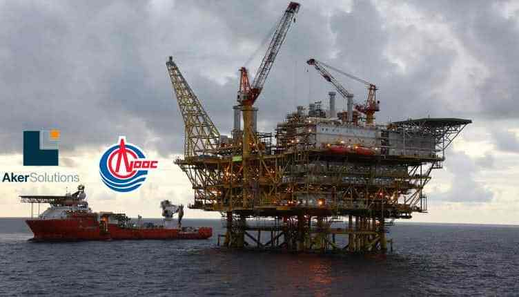 Aker Solutions CNOOC contrato petróleo