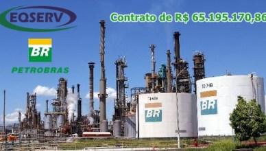 EQSERV Petrobras vagas contrato