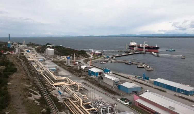 Equinor porto na noruega acidente vazamento de petróleo