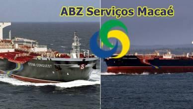 ABZ Macaé contrato Petrobras Navio Tanque