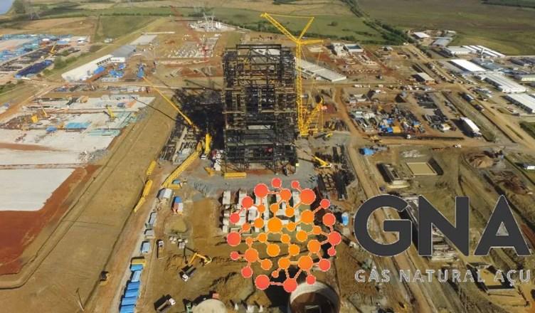 Termoelétrica GNA AÇÚ obras vagas e-mail empregos são joão da barra