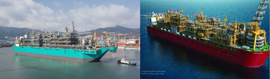 Petrobras GNL PETRONAS SHELL