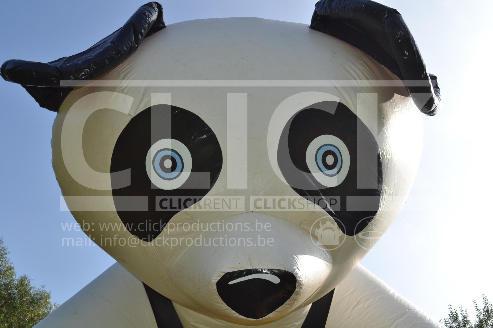 Springkasteel Pandabeer huren