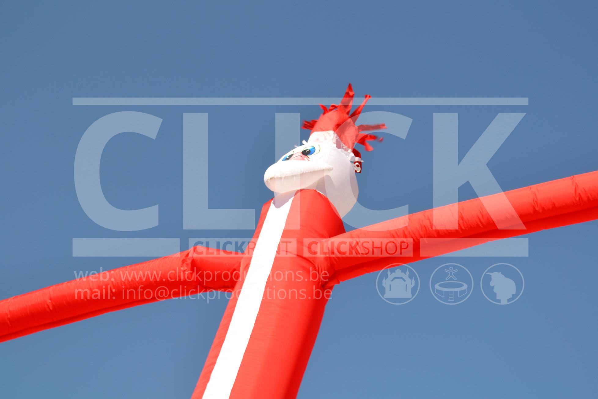 Skydancer Kerstman huren
