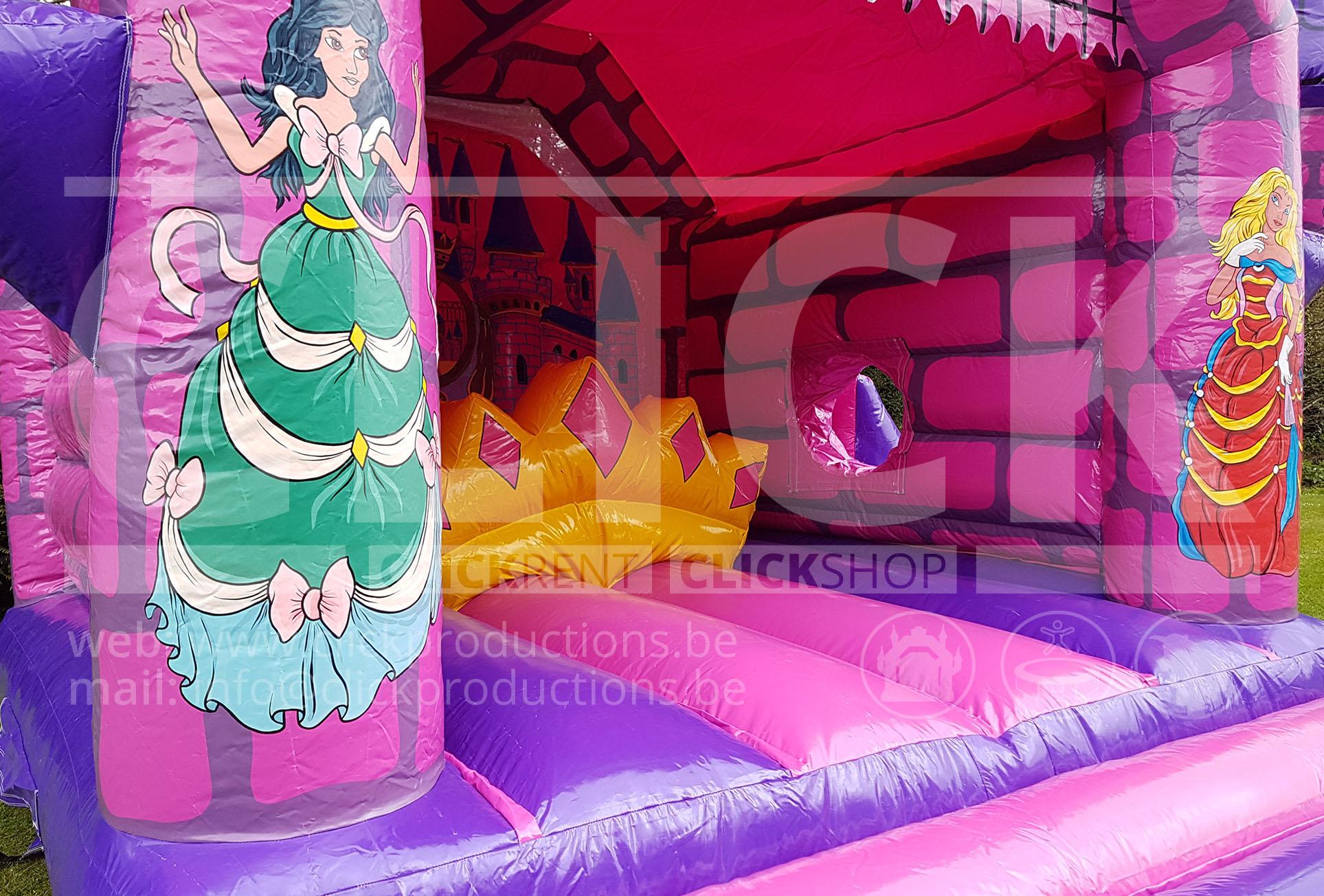 Prinsessen springkasteel